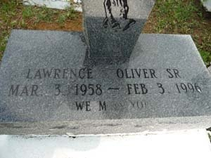 OLIVER, LAWRENCE, SR - West Feliciana County, Louisiana | LAWRENCE, SR OLIVER - Louisiana Gravestone Photos