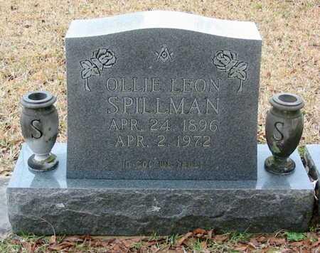 SPILLMAN, OLLIE LEON - West Feliciana County, Louisiana | OLLIE LEON SPILLMAN - Louisiana Gravestone Photos