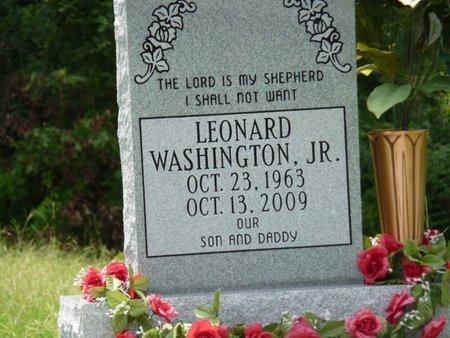 "WASHINGTON, LEONARD, JR  ""JUNE"" - West Feliciana County, Louisiana | LEONARD, JR  ""JUNE"" WASHINGTON - Louisiana Gravestone Photos"