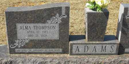 ADAMS, ALMA - Winn County, Louisiana | ALMA ADAMS - Louisiana Gravestone Photos
