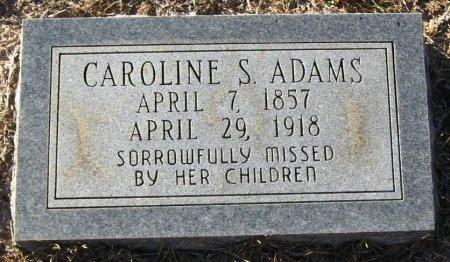 ADAMS, CAROLINE S - Winn County, Louisiana | CAROLINE S ADAMS - Louisiana Gravestone Photos