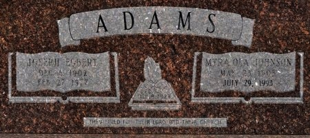ADAMS, MYRA OLA - Winn County, Louisiana | MYRA OLA ADAMS - Louisiana Gravestone Photos