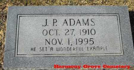 ADAMS, JOHN P - Winn County, Louisiana | JOHN P ADAMS - Louisiana Gravestone Photos