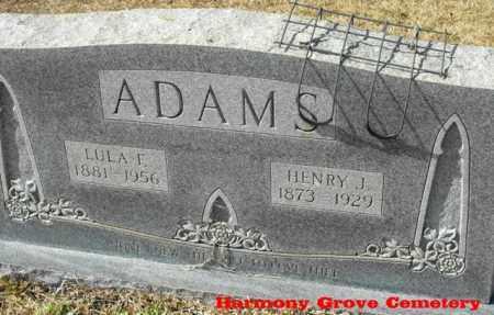 ADAMS, LULA FRANCES - Winn County, Louisiana | LULA FRANCES ADAMS - Louisiana Gravestone Photos