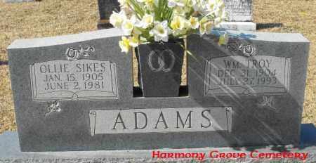 ADAMS, WILLIAM TROY - Winn County, Louisiana | WILLIAM TROY ADAMS - Louisiana Gravestone Photos