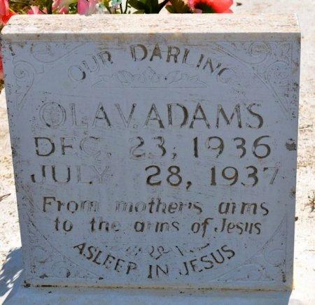 ADAMS, OLA - Winn County, Louisiana   OLA ADAMS - Louisiana Gravestone Photos