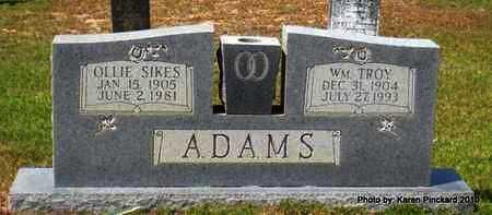 ADAMS, OLLIE - Winn County, Louisiana | OLLIE ADAMS - Louisiana Gravestone Photos