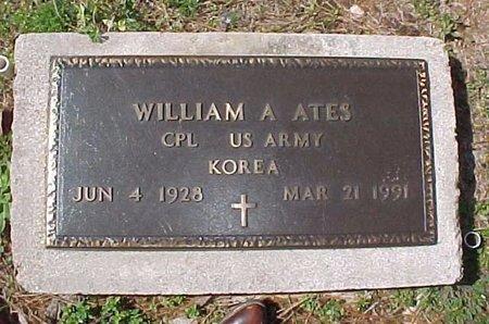 ATES, WILLIAM A (VETERAN KOR) - Winn County, Louisiana | WILLIAM A (VETERAN KOR) ATES - Louisiana Gravestone Photos