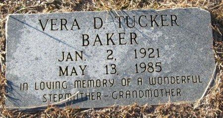 TUCKER BAKER, VERA D - Winn County, Louisiana | VERA D TUCKER BAKER - Louisiana Gravestone Photos