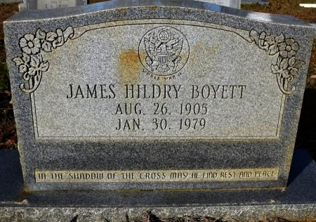 BOYETT, JAMES HILDRY  (VETERAN WWII) - Winn County, Louisiana   JAMES HILDRY  (VETERAN WWII) BOYETT - Louisiana Gravestone Photos