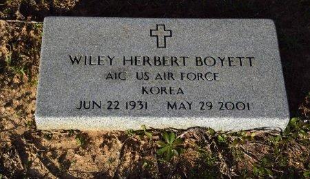 BOYETT, WILEY HERBERT  (VETERAN KOR) - Winn County, Louisiana | WILEY HERBERT  (VETERAN KOR) BOYETT - Louisiana Gravestone Photos