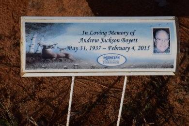BOYETT, ANDREW JACKSON - Winn County, Louisiana | ANDREW JACKSON BOYETT - Louisiana Gravestone Photos