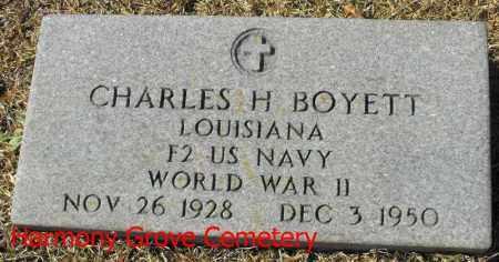 BOYETT, CHARLES H  (VETERAN WWII) - Winn County, Louisiana | CHARLES H  (VETERAN WWII) BOYETT - Louisiana Gravestone Photos
