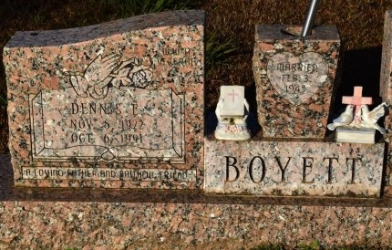 BOYETT, DENNIS F - Winn County, Louisiana | DENNIS F BOYETT - Louisiana Gravestone Photos
