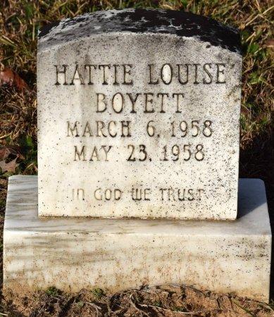 BOYETT, HATTIE LOUISE - Winn County, Louisiana | HATTIE LOUISE BOYETT - Louisiana Gravestone Photos