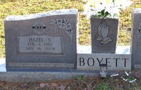 BOYETT, HAZEL S - Winn County, Louisiana | HAZEL S BOYETT - Louisiana Gravestone Photos