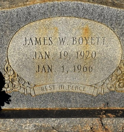 BOYETT, JAMES W - Winn County, Louisiana   JAMES W BOYETT - Louisiana Gravestone Photos
