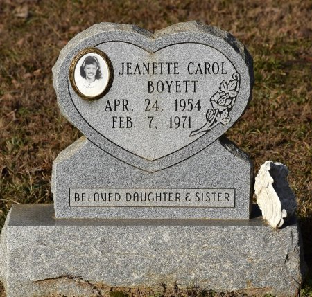 BOYETT, JEANETTE CAROL - Winn County, Louisiana | JEANETTE CAROL BOYETT - Louisiana Gravestone Photos