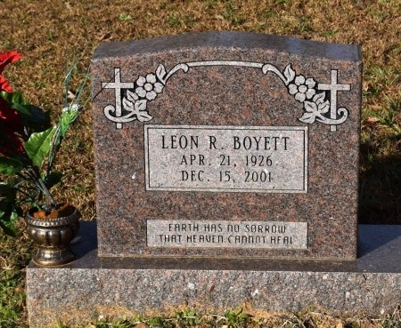 BOYETT, LEON R - Winn County, Louisiana | LEON R BOYETT - Louisiana Gravestone Photos