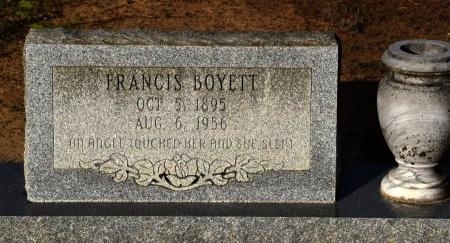 BOYETT, MARY FRANCIS - Winn County, Louisiana | MARY FRANCIS BOYETT - Louisiana Gravestone Photos