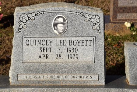 BOYETT, QUINCY LEE - Winn County, Louisiana | QUINCY LEE BOYETT - Louisiana Gravestone Photos