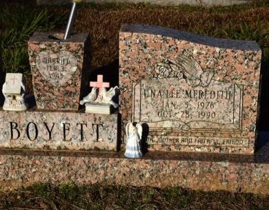 BOYETT, UNA LEE - Winn County, Louisiana   UNA LEE BOYETT - Louisiana Gravestone Photos