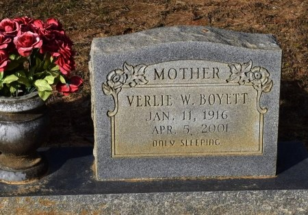 BOYETT, VERLIE W - Winn County, Louisiana | VERLIE W BOYETT - Louisiana Gravestone Photos