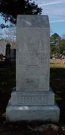 BRIAN   ), ILEY MARION, REV  (VETERAN CSA) - Winn County, Louisiana | ILEY MARION, REV  (VETERAN CSA) BRIAN   ) - Louisiana Gravestone Photos