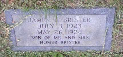 BRISTER, JAMES H - Winn County, Louisiana | JAMES H BRISTER - Louisiana Gravestone Photos