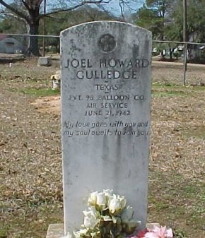 GULLEDGE  , JOEL HOWARD  (VETERAN) - Winn County, Louisiana | JOEL HOWARD  (VETERAN) GULLEDGE   - Louisiana Gravestone Photos