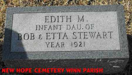 STEWART, EDITH M - Winn County, Louisiana   EDITH M STEWART - Louisiana Gravestone Photos