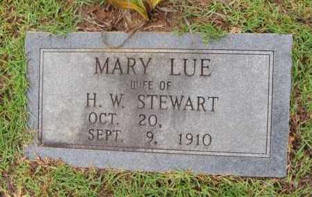 STEWART, MARY LUE - Winn County, Louisiana | MARY LUE STEWART - Louisiana Gravestone Photos