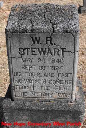 STEWART, W   R - Winn County, Louisiana   W   R STEWART - Louisiana Gravestone Photos