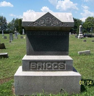 BRIGGS, FAMILY MARKER - Barry County, Michigan | FAMILY MARKER BRIGGS - Michigan Gravestone Photos
