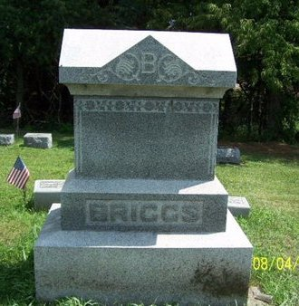 BRIGGS, FAMILY MARKER - Barry County, Michigan | FAMILY MARKER BRIGGS - Michigan Gravestone Photos
