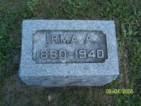BRIGGS, IRMA - Barry County, Michigan | IRMA BRIGGS - Michigan Gravestone Photos