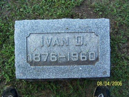 BRIGGS, IVAN - Barry County, Michigan | IVAN BRIGGS - Michigan Gravestone Photos
