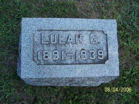 BRIGGS, LULUAH - Barry County, Michigan | LULUAH BRIGGS - Michigan Gravestone Photos