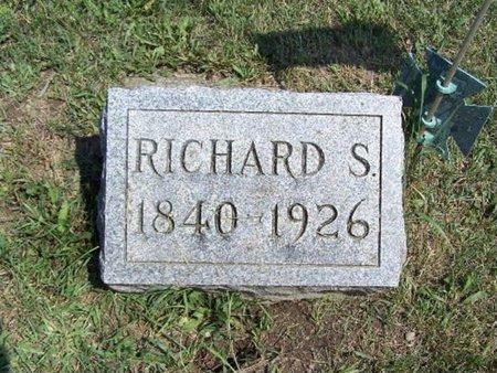 BRIGGS, RICHARD S. - Barry County, Michigan | RICHARD S. BRIGGS - Michigan Gravestone Photos