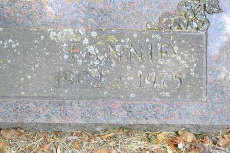 ADAMS, FANNIE - Branch County, Michigan   FANNIE ADAMS - Michigan Gravestone Photos