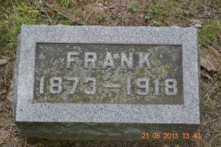 ADAMS, FRANK - Branch County, Michigan | FRANK ADAMS - Michigan Gravestone Photos