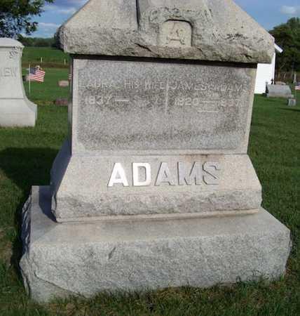 ADAMS, LAURA - Branch County, Michigan | LAURA ADAMS - Michigan Gravestone Photos