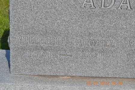 ADAMS, MILDRED - Branch County, Michigan | MILDRED ADAMS - Michigan Gravestone Photos