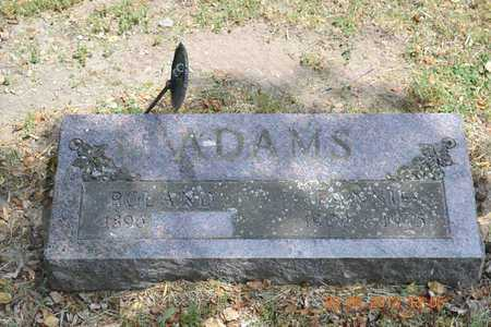 ADAMS, ROLAND - Branch County, Michigan | ROLAND ADAMS - Michigan Gravestone Photos