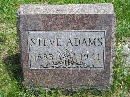 ADAMS, STEVE - Branch County, Michigan | STEVE ADAMS - Michigan Gravestone Photos