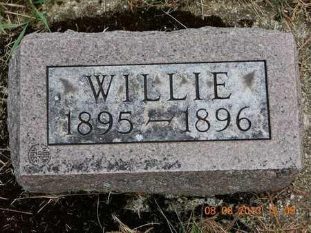 ADAMS, WILLIE - Branch County, Michigan | WILLIE ADAMS - Michigan Gravestone Photos