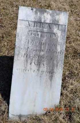 ALDRICH, ABRAM - Branch County, Michigan   ABRAM ALDRICH - Michigan Gravestone Photos