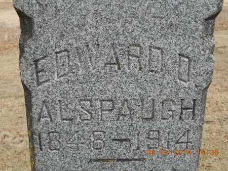 ALSPAUGH, EDWARD D. - Branch County, Michigan | EDWARD D. ALSPAUGH - Michigan Gravestone Photos