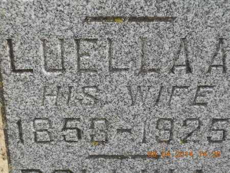 ALSPAUGH, LUELLA A. - Branch County, Michigan | LUELLA A. ALSPAUGH - Michigan Gravestone Photos