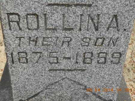 ALSPAUGH, ROLLIN A. - Branch County, Michigan | ROLLIN A. ALSPAUGH - Michigan Gravestone Photos
